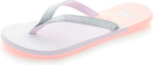 adidas PERFORMANCE Dámské stříbrno-růžové pantofle ADIDAS Eezay Glitter W 42fcf163f7