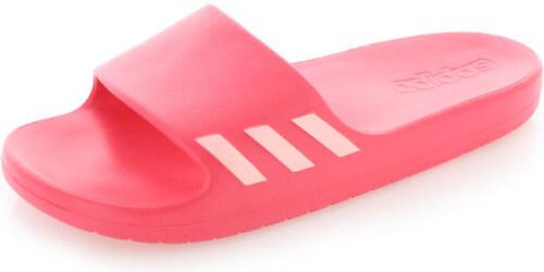 adidas PERFORMANCE Dámske červené šľapky ADIDAS Aqualette W - Glami.sk e9eddaabdb4