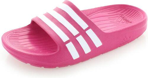 adidas PERFORMANCE Dámske fuchsiové šľapky ADIDAS Duramo Slide K ... 1974f7937b