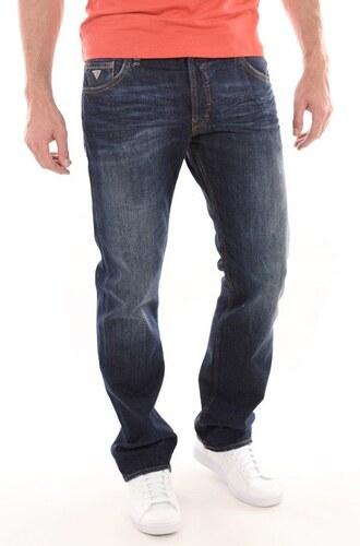 Guess pánské tmavě modré džíny - Glami.cz 5cb09c06fe
