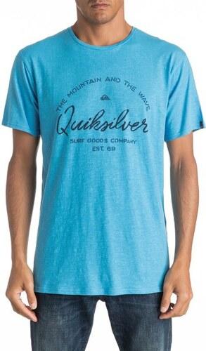 766e52050b Pánské tričko Quiksilver HEROBAY BONNIE BLUE M - Glami.cz