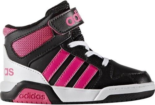 adidas Dívčí kotníkové tenisky BB9TIS Inf - růžovo-černé - Glami.cz 4e1c969643