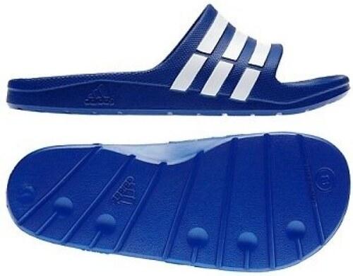3787640c33d78 Šľapky ADIDAS Duramo Slide G14309 odtiene farieb: modrá - Glami.sk