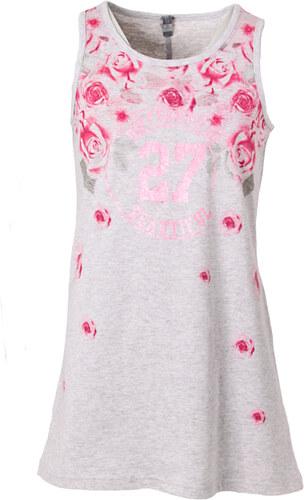 Losan Dívčí bavlněné letní šaty RŮŽE - Glami.cz 8b7bef42b2