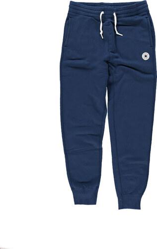 1dd93e19d71 Pánské tmavě modré teplákové kalhoty Converse Core Rib Cuff - Glami.cz