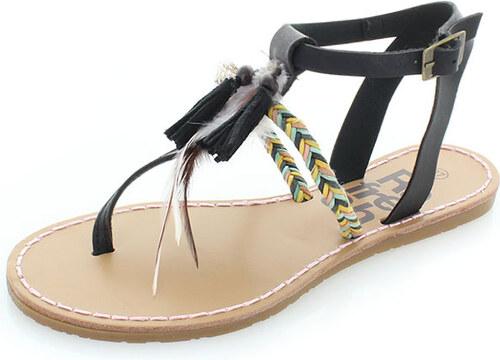 8f8831ac494c Dámske čierne sandále Refresh 63363 - Glami.sk