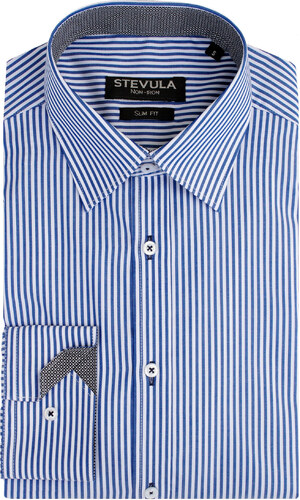 c6157d150093 -46% STEVULA Prúžkovaná košeľa s kontrastom