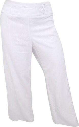 Dovoz Anglie Dámské bílé lněné kalhoty - Glami.cz 03588a870a