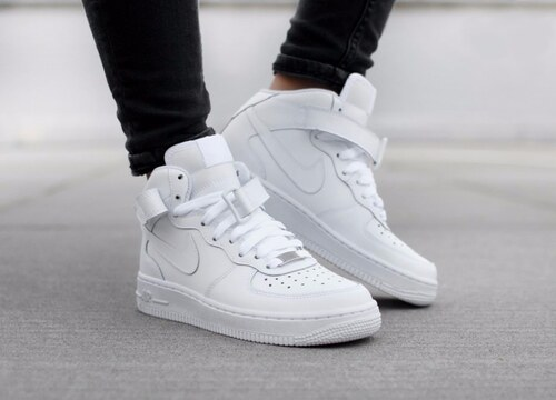 Pánske tenisky Nike Air Force 1 Mid `07 White - Glami.sk e4de8436fea