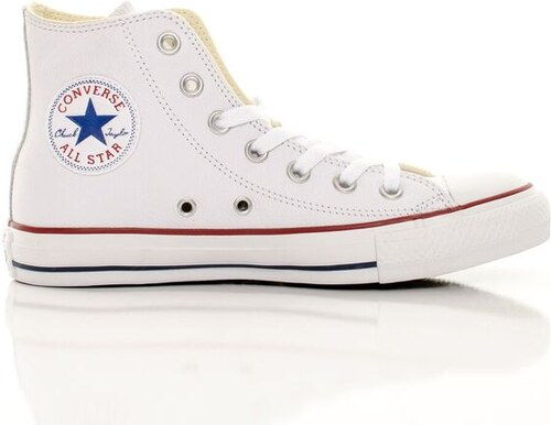 Unisex Tenisky Converse Chuck Taylor All Star Hi Leather White ... c84bfeadd8