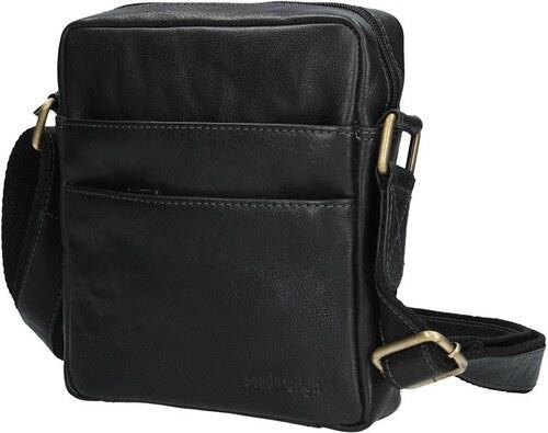 c918d40fd3 Sendi Design Pánská kožená taška na doklady SendiDesign CT710 - černá