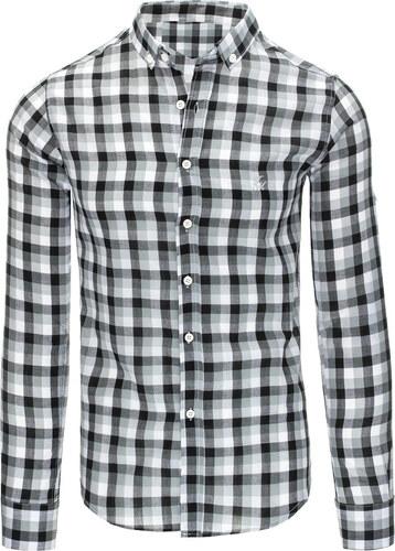90f6f2090b12 Pánska košeľa s dlhým rukávom (dx1315) odtiene farieb  farebná ...