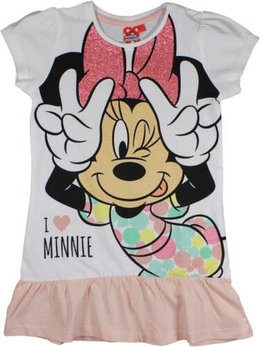 aa5b10754a85 E plus M Dievčenské šaty Minnie - bielo-ružové - Glami.sk