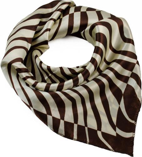 Dámský hedvábný šátek 002100 2 béžový - Glami.cz fcf8938ce9