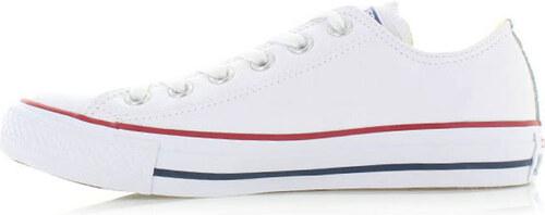 Converse Pánske biele nízke tenisky Chuck Taylor All Star Leather ... d6213b03cc8