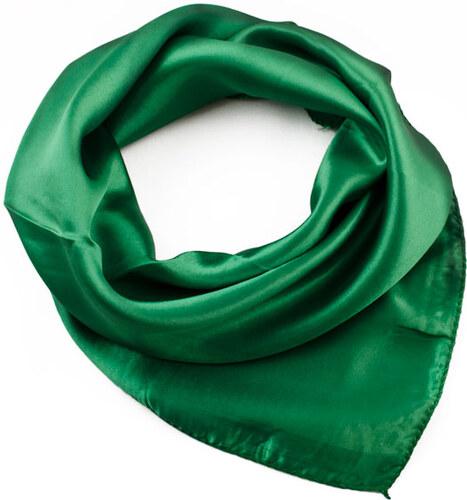 Dámský hedvábný šátek 002100 36 zelený - Glami.cz decab24eb6