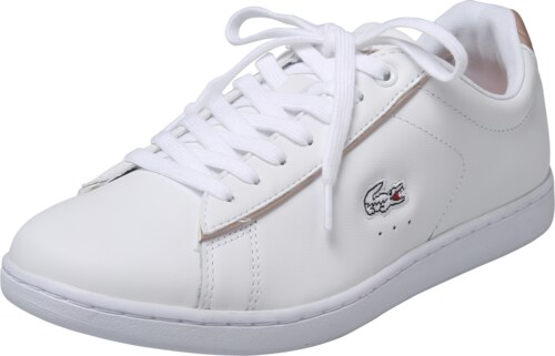 LACOSTE Tenisky  Carnaby Evo  růžově zlatá   bílá - Glami.cz 4efa76f12d