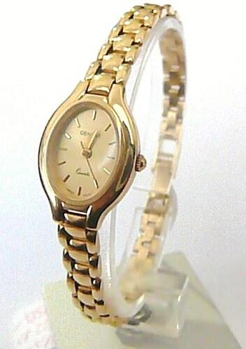 Luxusní dámské zlaté švýcarské hodinky GENEVE 585 22 e8b573106e