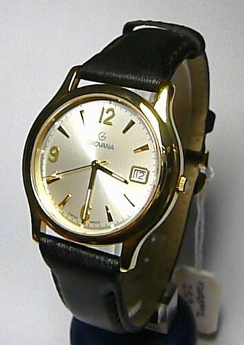Luxusní švýcarské pánské ocelové hodinky Grovana 1207.1 na kůži safírové  sklo 3f79d2d7e5