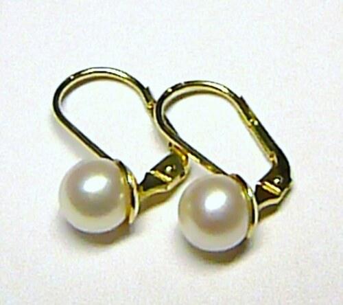 9b6769389 Zlatokov Dámské luxusní zlaté náušnice s bílými perlami pr.8 mm 585 ...