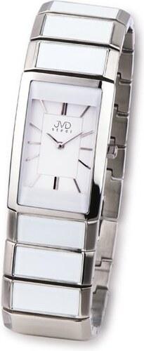 Luxusní dámské keramické náramkové hodinky JVD steel W22.1 (bílá keramika) aa784ced72
