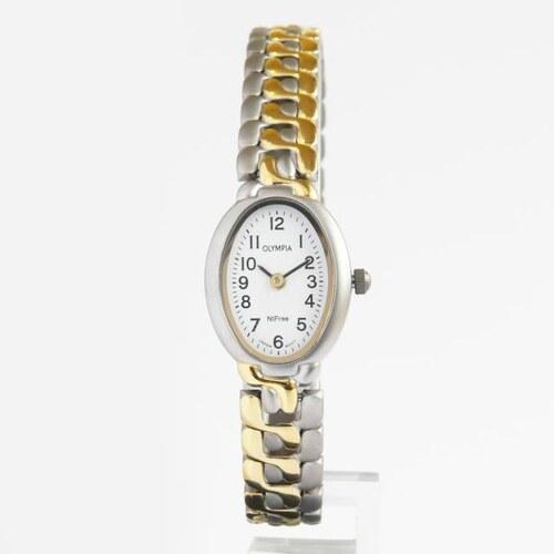 Dámské společenské titanové antialergické oválné hodinky Olympia 10120 d0f12f25f22