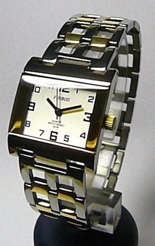 65c8b0989 Titanové antialergické hranaté dámské hodinky Foibos 20872 (bicolor ...