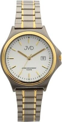 Vodotěsné pánské titanové antialergické hodinky JVD J2020.3 - Glami.cz dce0d8722b