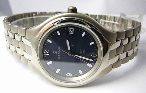 7d6796879bf Titanové švýcarské hodinky Grovana 1510.1197 se safírovým nepoškrabatelným  sklem