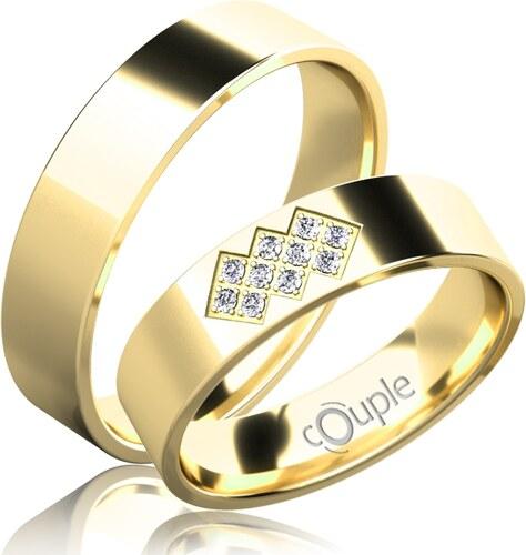 Pretis Flamenco Snubni Prsteny Zlute Zlato C C 5 Pcw 2 Glami Cz