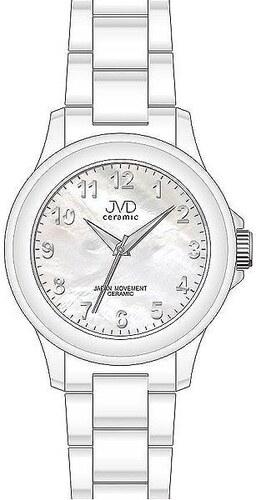 Luxusní keramické dámské náramkové hodinky JVD ceramic J6009.1 ... 4876e3ace1a