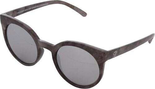 Sivé vzorované dámske slnečné okuliare CHPO Padag - Glami.sk 066fe887df1