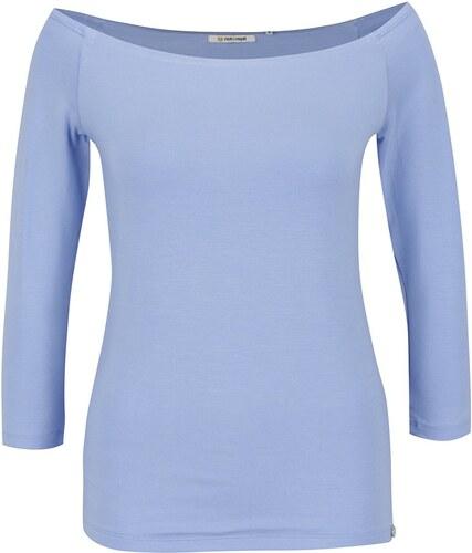 3844c1392465 Modré tričko s lodičkovým výstrihom Rich   Royal - Glami.sk