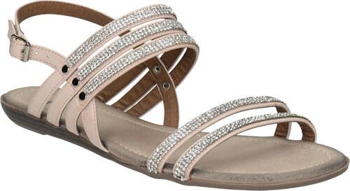 e80c0294750cf Baťa Dámske sandále s kamienkami - Glami.sk