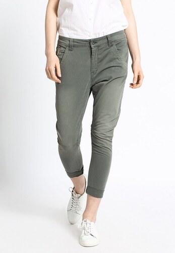 81280cd5fe9 Pepe Jeans dámské zelené kalhoty s nízkým sedem Topsy - Glami.cz