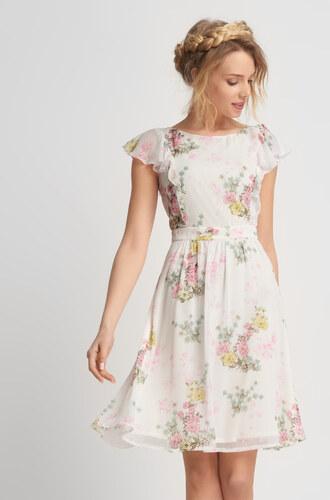 3321ba61896 Orsay Květované šaty s volány - Glami.cz