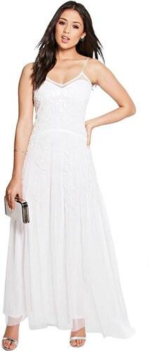 3e3d2c8db4c1 BOOHOO Spoločenské šaty Ella bielej farby - Glami.sk