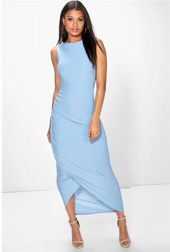BOOHOO Blankytne modré šaty Tia - Glami.sk d2a4187fdc2