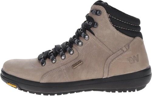 6ee2f0b018 Béžové dámske kožené členkové topánky Weinbrenner - Glami.sk