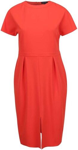 b1647e08c954 Červené puzdrové šaty s rozparkom Dorothy Perkins Curve - Glami.sk