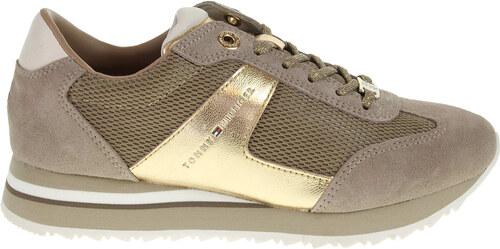 Tommy Hilfiger dámská obuv FW0FW00748 a1285ngel 1c2 béžová-zlatá ... f829efaff8