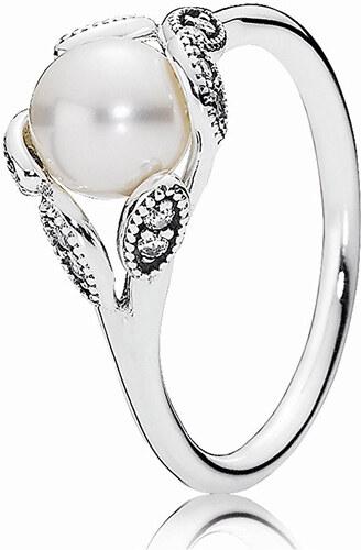 Pandora Něžný prsten s perličkou 190967P - Glami.cz b8424d44575