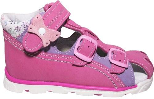 Dětské letní sandálky Essi S 1713 růžové - Glami.cz 06c3711a1a