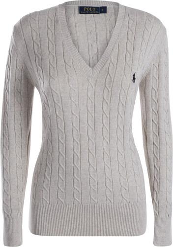 Krémový prémiový sveter s ornamentom od Ralph Lauren - Glami.sk d39b6abeb2e