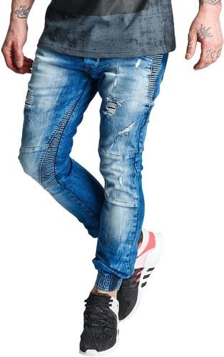 2Y PREMIUM 2Y kalhoty pánské Denim Chino Pants Blue džíny - Glami.cz e6366f6c09