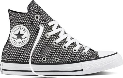 59ccc3109937 Converse čierno-biele tenisky CTAS HI White   Vapor Black - Glami.sk