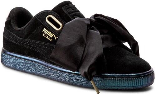 ... Sneakers PUMA - Suede Heart Satin Wn s 362714 03 Puma Black Puma Black  premium selection ... 616f35437