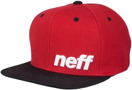 b0110134806 Dětská kšiltovka Neff Daily red black - Glami.cz