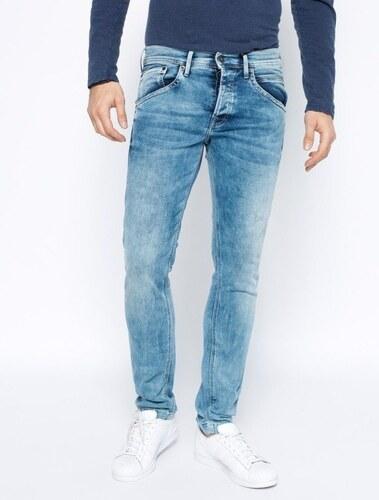 Pepe Jeans pánské světle modré džíny Track - Glami.cz 338be9ddf2
