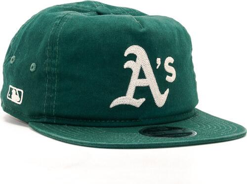 -50% Kšiltovka New Era Chain Stitch Oakland Athletics 9FIFTY Dark Green  Snapback ad5f6ee98906